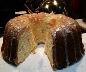 Lemon & Ginger Bundt Cake